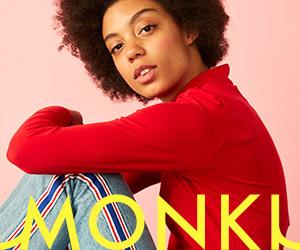 Monki brand banner