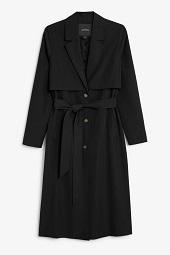 Black soft trench coat_7