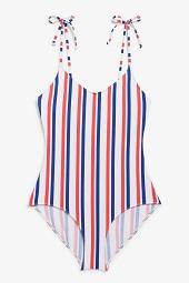 Tie shoulder swimsuit_9