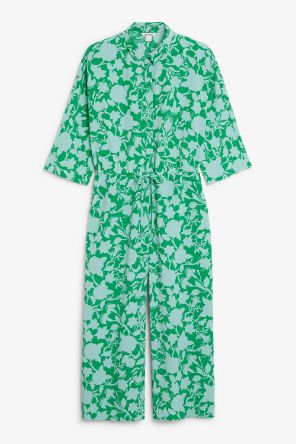 Wide fitting jumpsuit green_4
