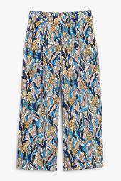Wide cropped trouser garden of leo_9