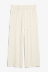 Wide ribbed trousers barely beige._6