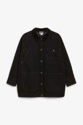 Denim utility jacket black_8