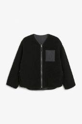 Reversible fleece jacket black_6