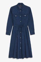 Denim shirt dress blues_5
