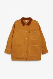 Denim utility jacket rust_7