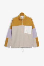 Fleece pullover yellow_16