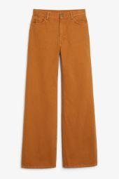 Yoko dark mustard jeans orange_12