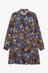 Ruffle shirt dress_10