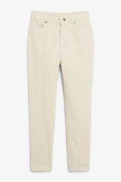 Slim fit corduroy trousers_9