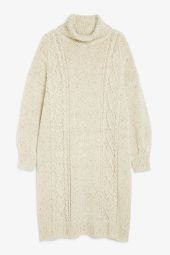 Long cable knit dress_5