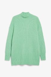 Long chunky knit sweater_7
