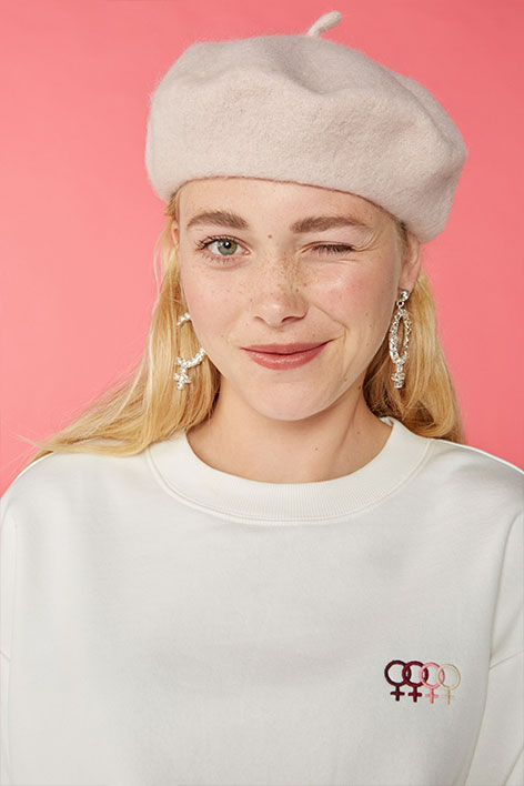 Grl statement earrings