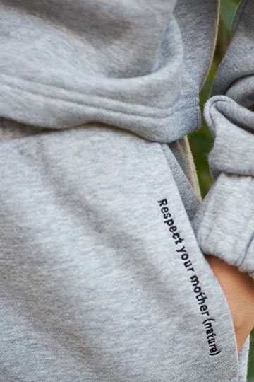 Recycled polyester sweatpants