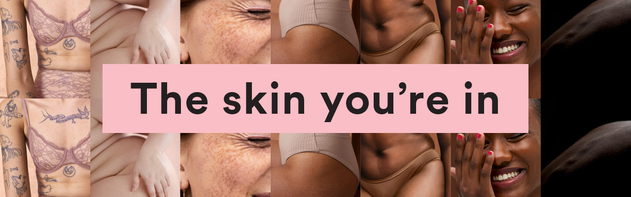 Monki x Polyester zine presents The skin you're in